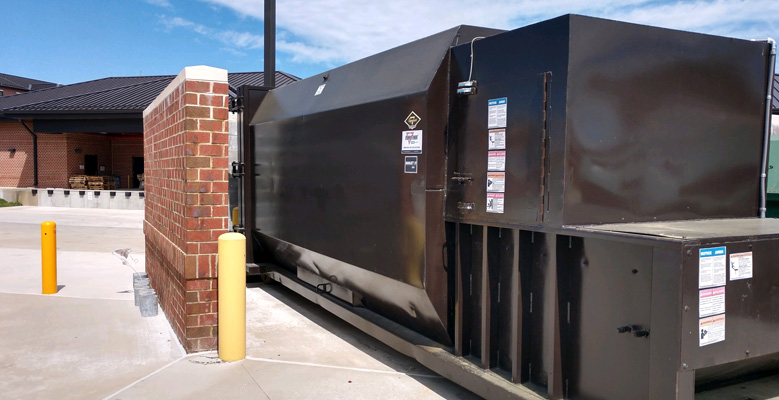 MDI offers stationary compactor service to Fort Lee.