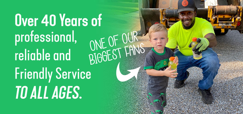 Over 40 Years of professional, reliable AND FRIENDLY SERVICE to all ages.