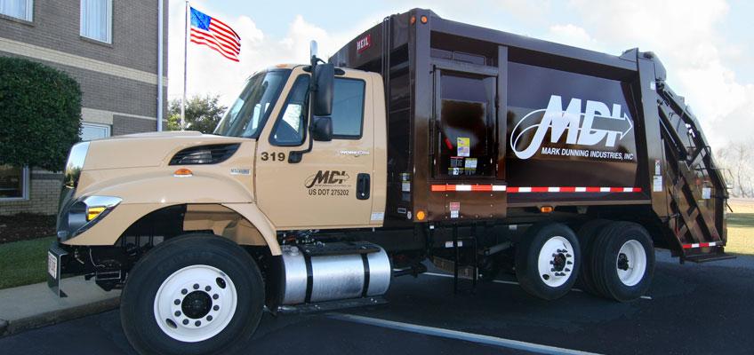 MDI Rear Load Garbage Truck