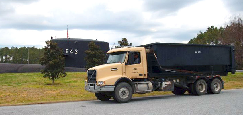 MDI Roll-off Truck Service at Kings Bay Sub Station