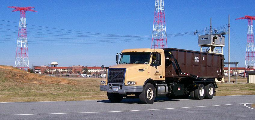 MDI Roll-off Truck at Ft Benning