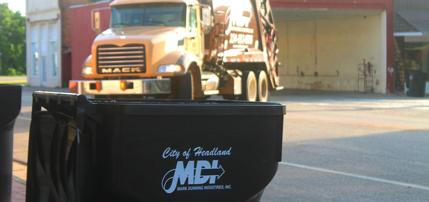 MDI Offers Waste Disposal Services in AL, FL & GA