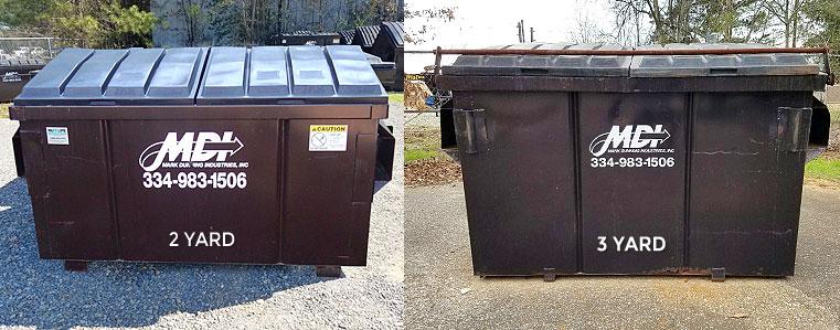 2 3 Yard Dumpster