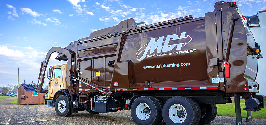 MDI offers garbage collection and recycling services to many areas in north florida