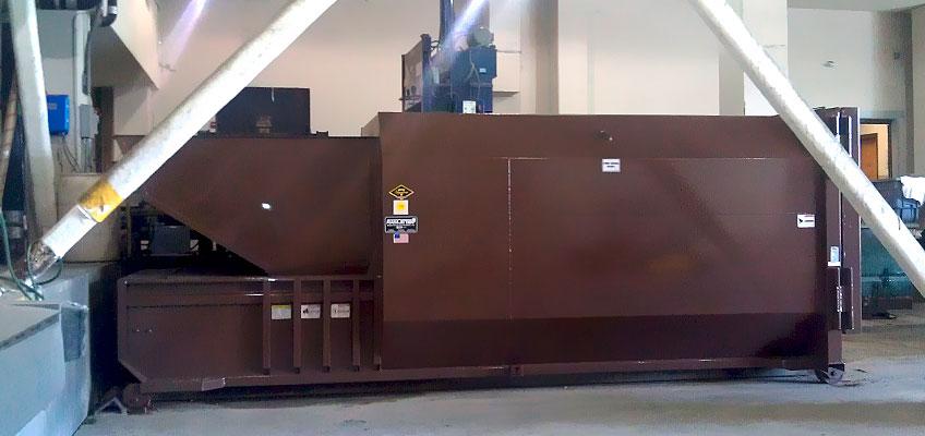 Mdi Custom Compactor Installled
