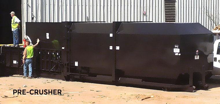 MDI Compactor Pre-Crusher