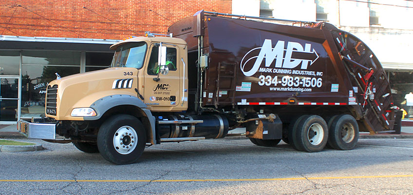 MDI Commercial Rear Load Garbage Service