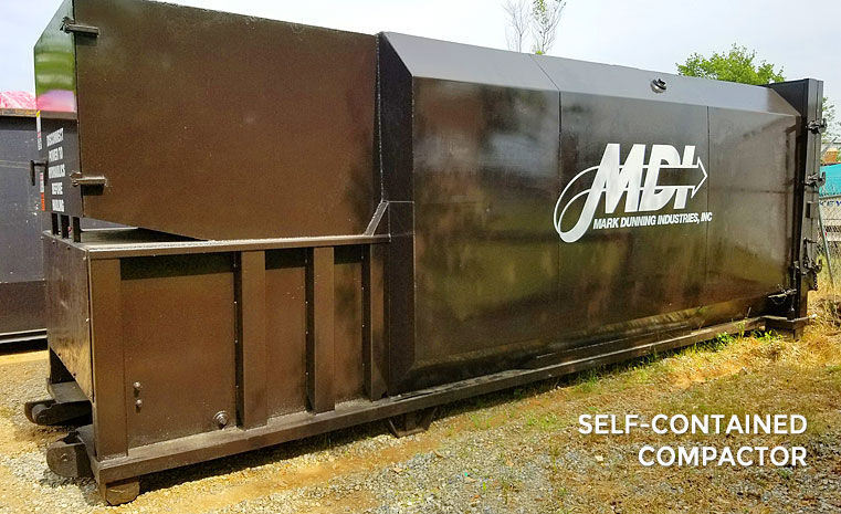 MDI Self-Contained Compactor
