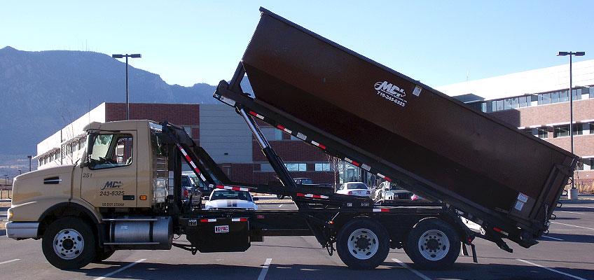 MDI Roll-off Truck with Hydraulic Lift