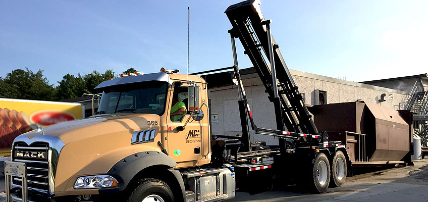 MDI Compactor Drop-off and Pickup