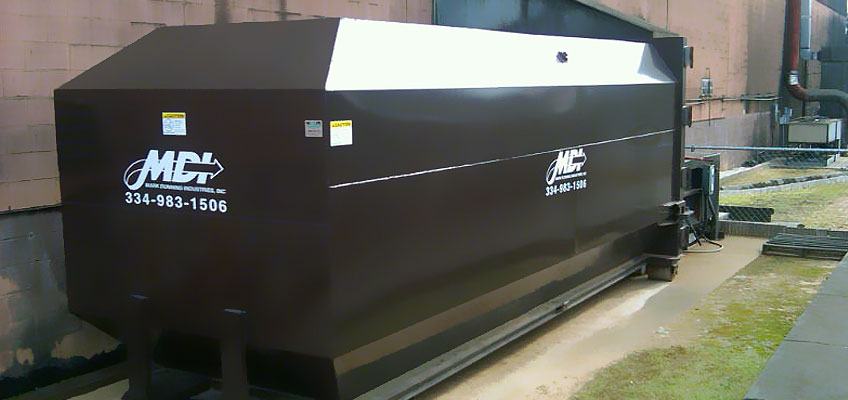 New MDI Compactor Installed