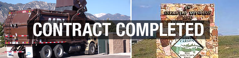 Front Load Service for Fort Carson