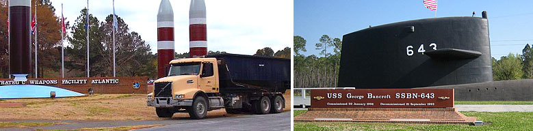 Roll-off Services for Kings Bay Sub Base