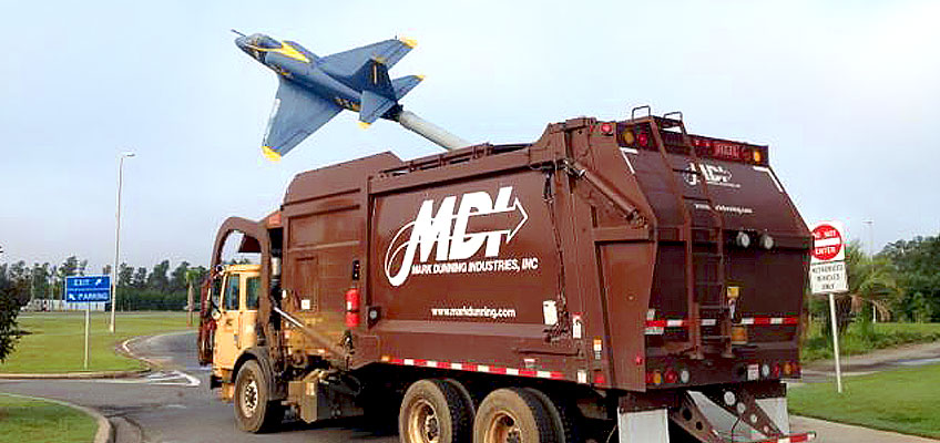Award winning roll off and front load garbage collection services