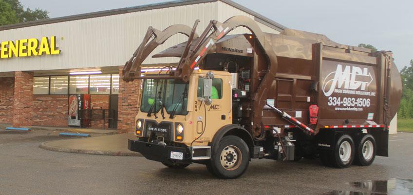 MDI Garbage Truck Onsite