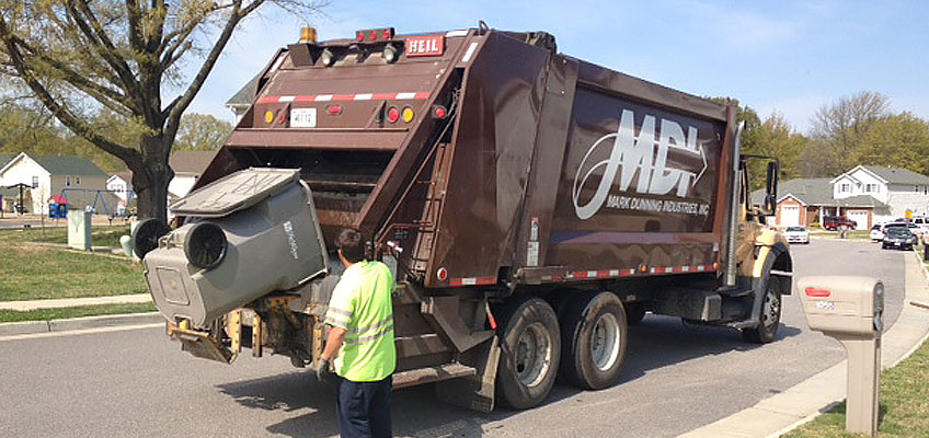 MDI Garbage Collection in Southern Alabama