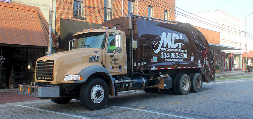 MDI Rear Load Waste Collection Truck
