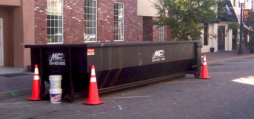Mdi Roll Off Dumpster