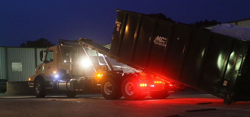 MDI Container Night Delivery