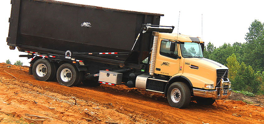 MDI Roll-off Truck Onsite Delivery