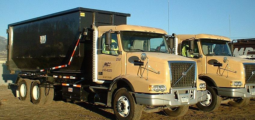MDI Roll-off Truck Yard