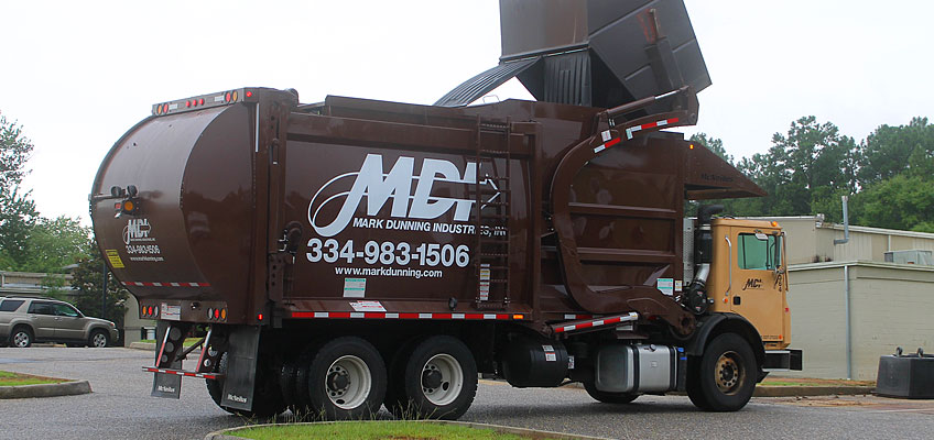 MDI Front Load Truck at Work