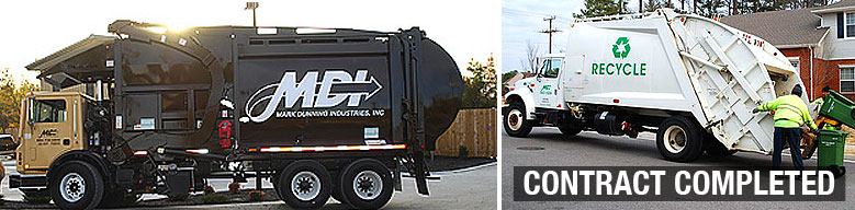Residential Garbage & Recycling Collection for Pinnacle