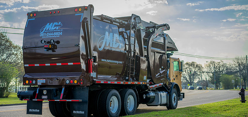 MDI offers garbage removal services to Corpus Christi, Kingsville, and Alice, TX areas