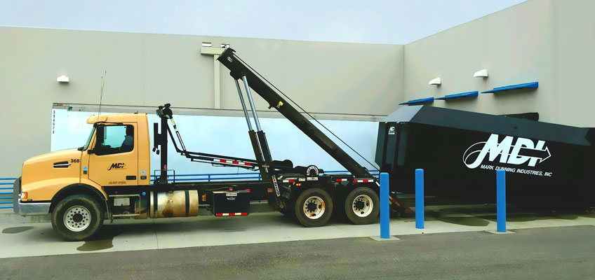 MDI Roll-off Compactor Service Drop-off