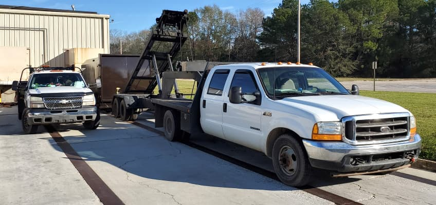 MDI can drop off and pick up your compactor when you need it.