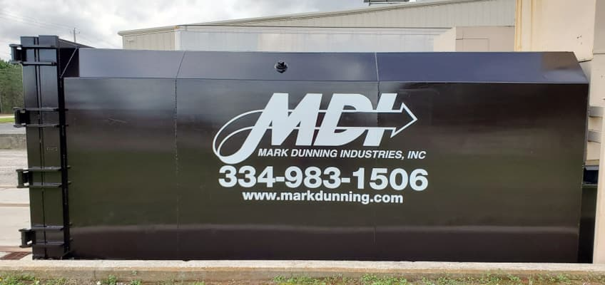 MDI compactor at client location.